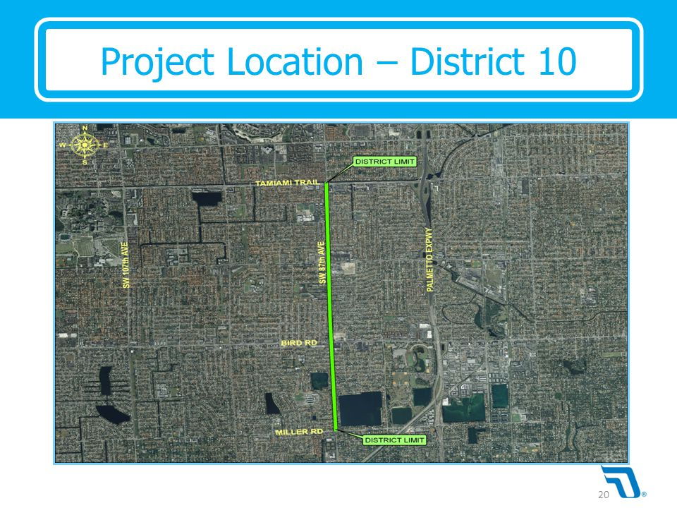 Project Location – District 10 20