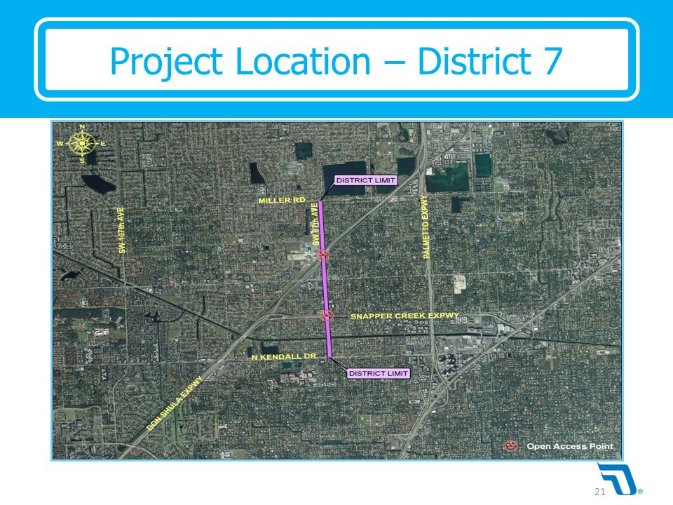 Project Location – District 7 21