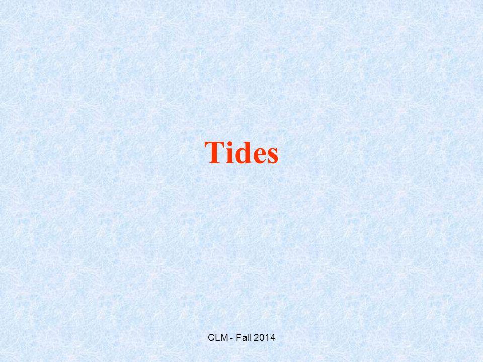 Tides CLM - Fall 2014