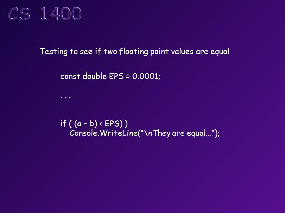 const double EPS = 0.0001;...