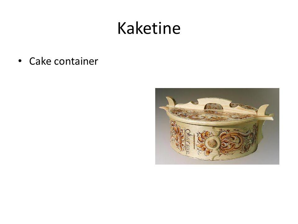 Kaketine Cake container