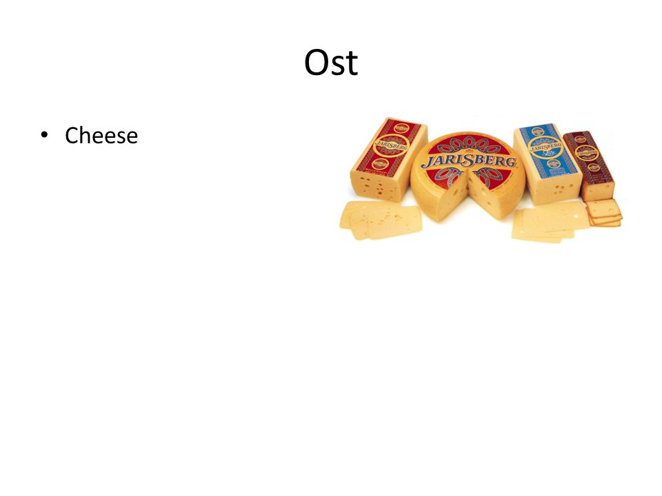 Ost Cheese
