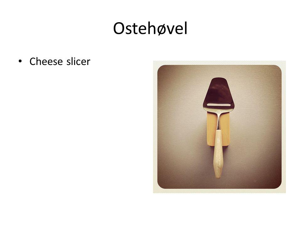Ostehøvel Cheese slicer