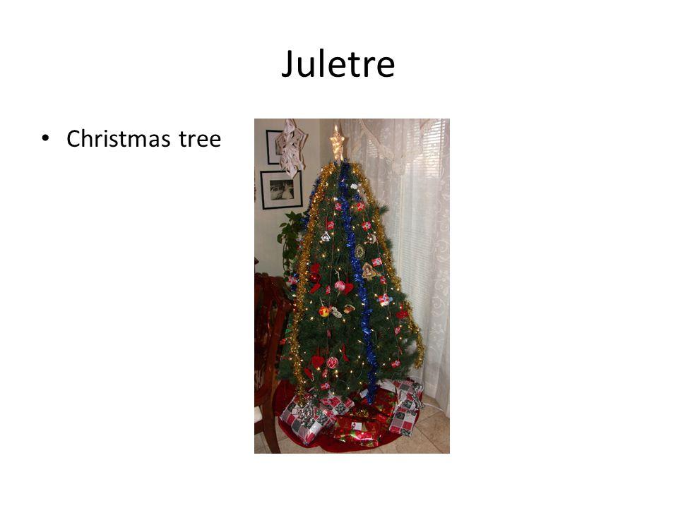 Juletre Christmas tree