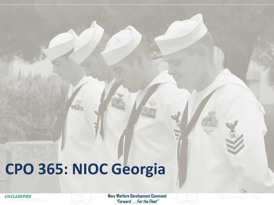 UNCLASSIFIED Combat iPad1 CPO 365: NIOC Georgia
