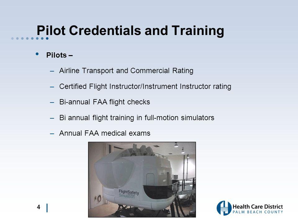 Support Team Health Care District –Director/Chief Pilot –Instructor Pilot –Maintenance Director, Avionics Technician and 2 Mechanics –Billing Coordina