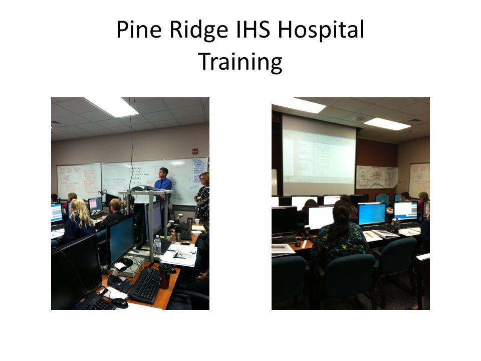 Pine Ridge IHS Hospital Training