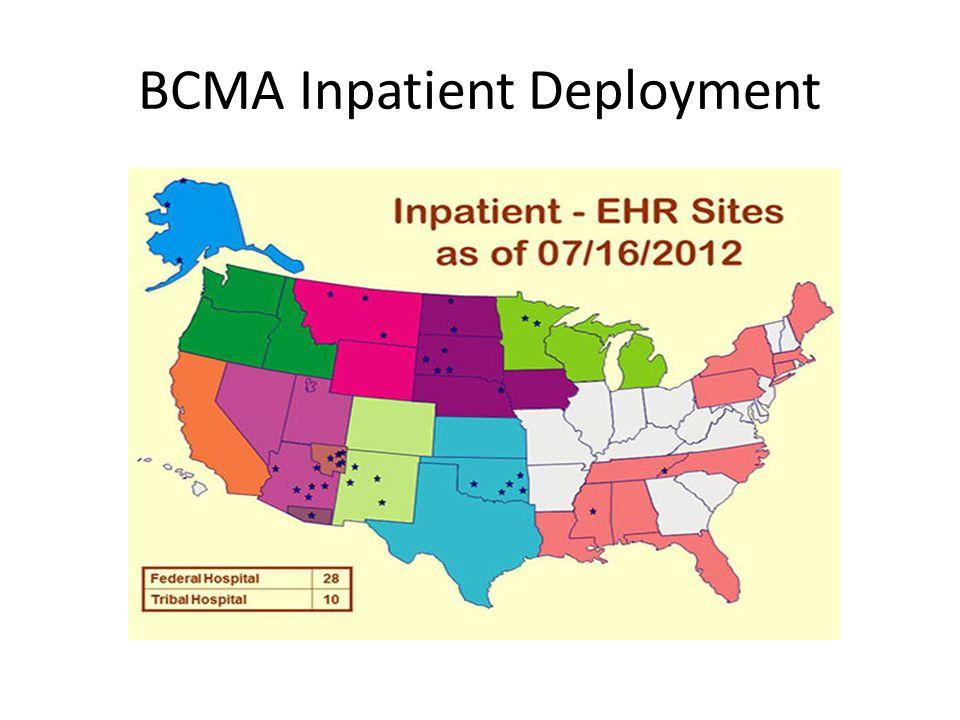 BCMA Inpatient Deployment