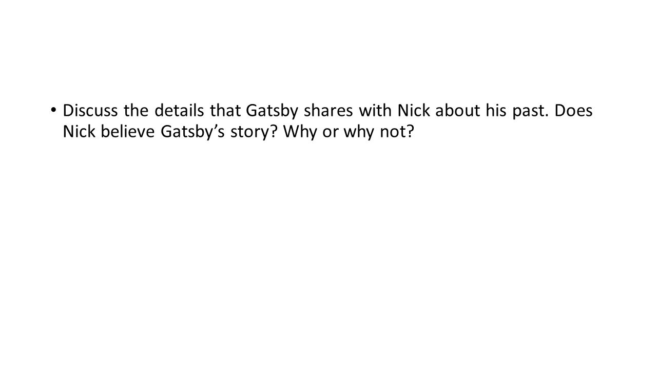 . Jordan Baker tells Nick about Daisy, Gatsby, and Tom. Summarize the story.