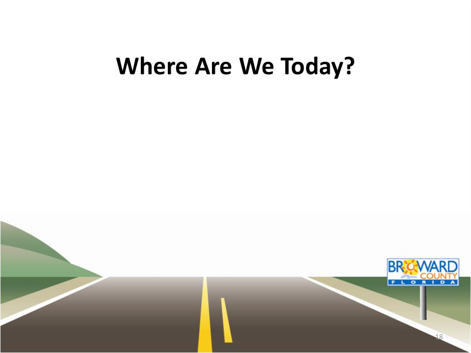 Where Are We Today? 18