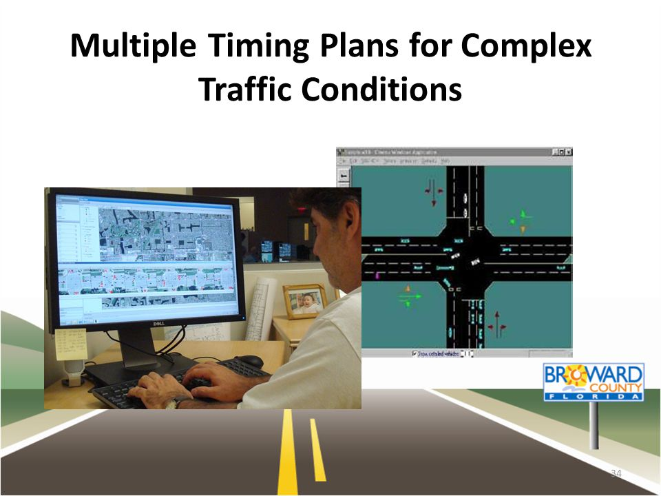 Multiple Timing Plans for Complex Traffic Conditions 34