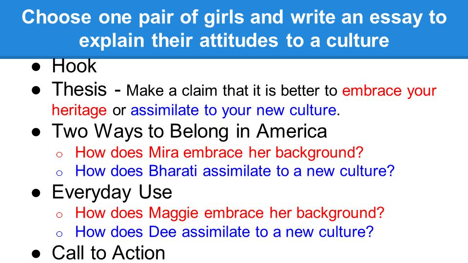 Cultural Assimilation Essay Thesis  Melting Pot  Wikipedia The  Do We Really Want Immigrants To Assimilate  Brookings Institution Persuasive Essays Examples For High School also What Is An Essay Thesis  Help Me To Do My Assignment