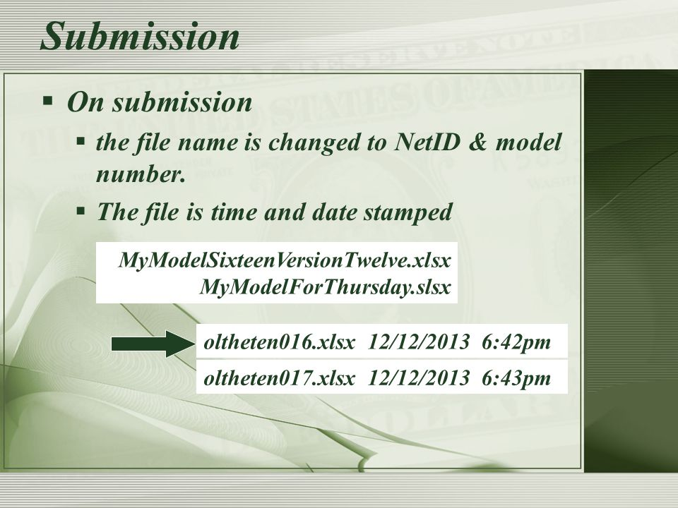 Submission  Submissions are relayed to the grading and backup servers every morning.