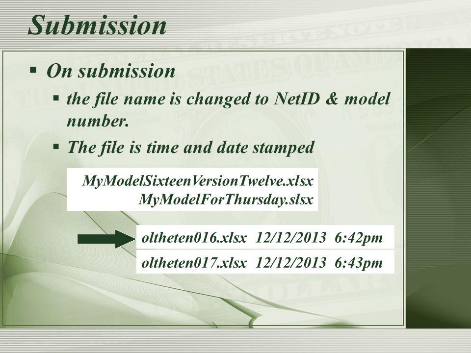 Financial Modeling.