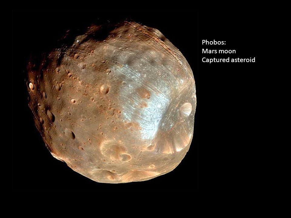 Phobos Photo by HiRISE, MRO, LPL (U. Arizona), NASA Phobos: Mars moon Captured asteroid