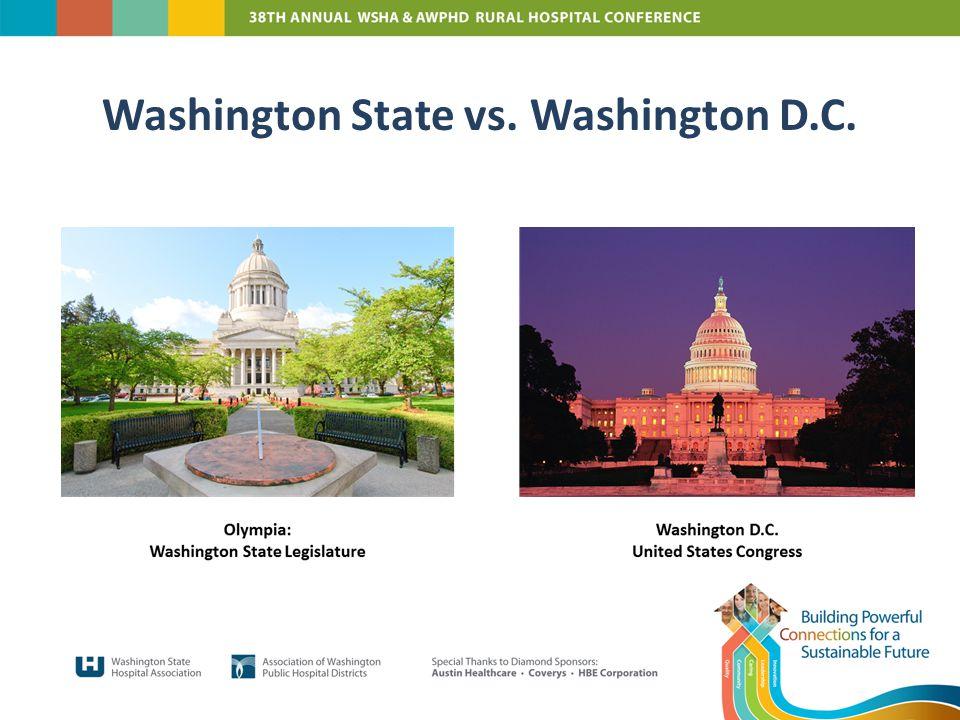 Washington State vs. Washington D.C.