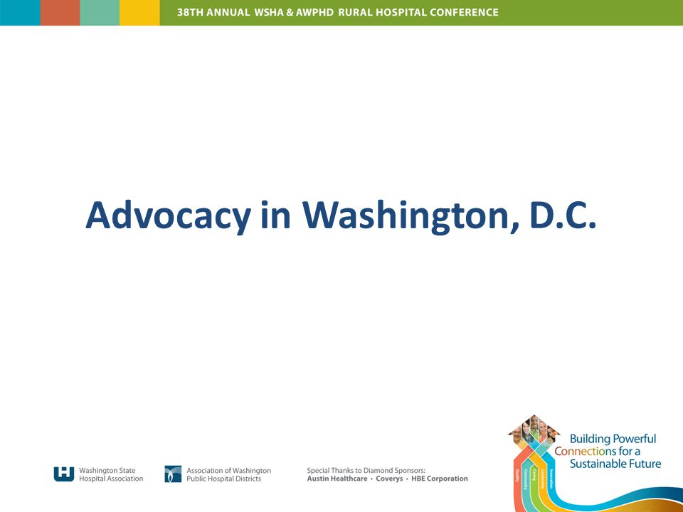 Advocacy in Washington, D.C.