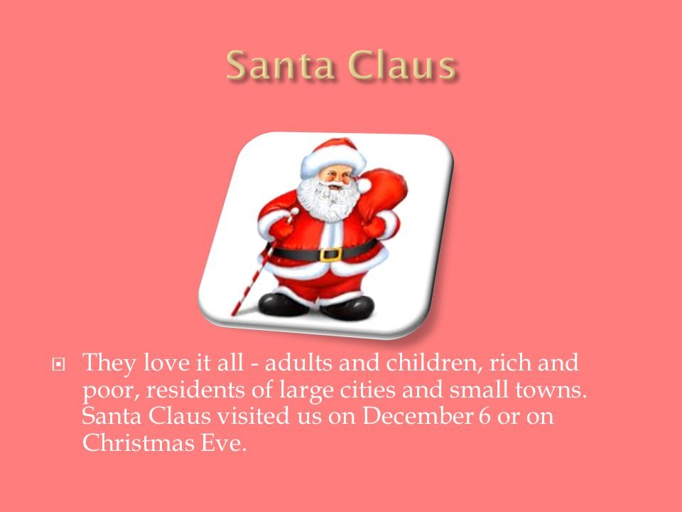  They love it all - adults and children, rich and poor, residents of large cities and small towns.