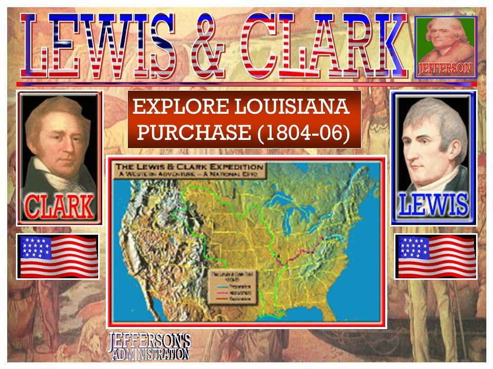 Meriwether Lewis William Clark