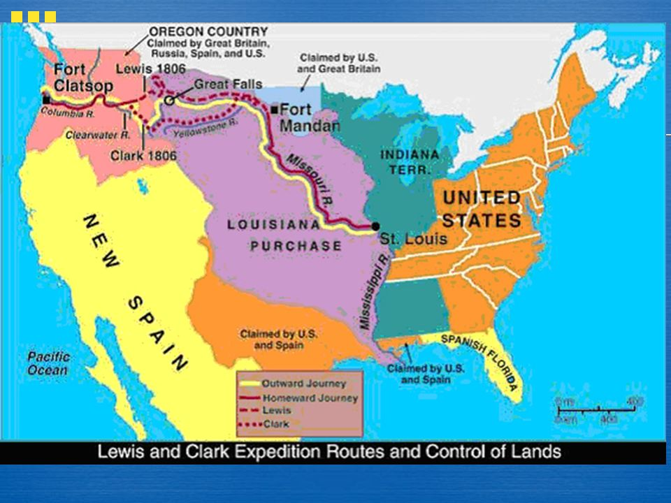 The Louisiana Purchase doubled the size of the United States!