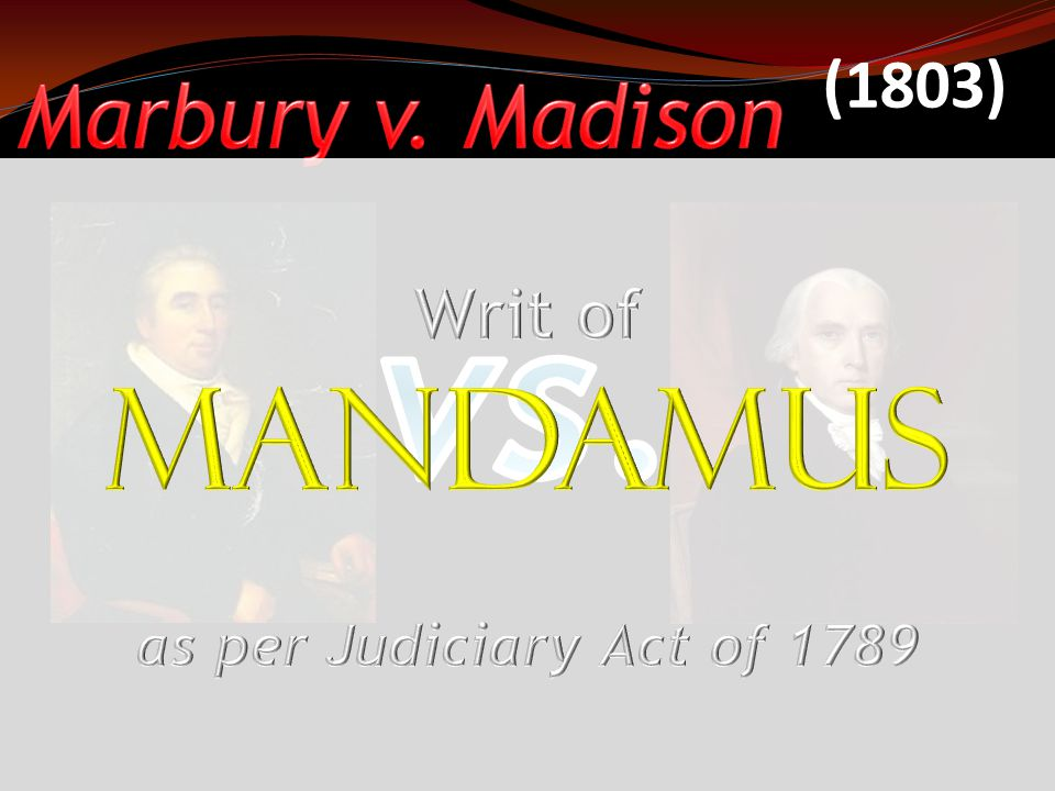 Federalist Secretary of State (Adams Administration) Chief Justice of the Supreme Court Midnight Appointment John Marshall Chief Justice