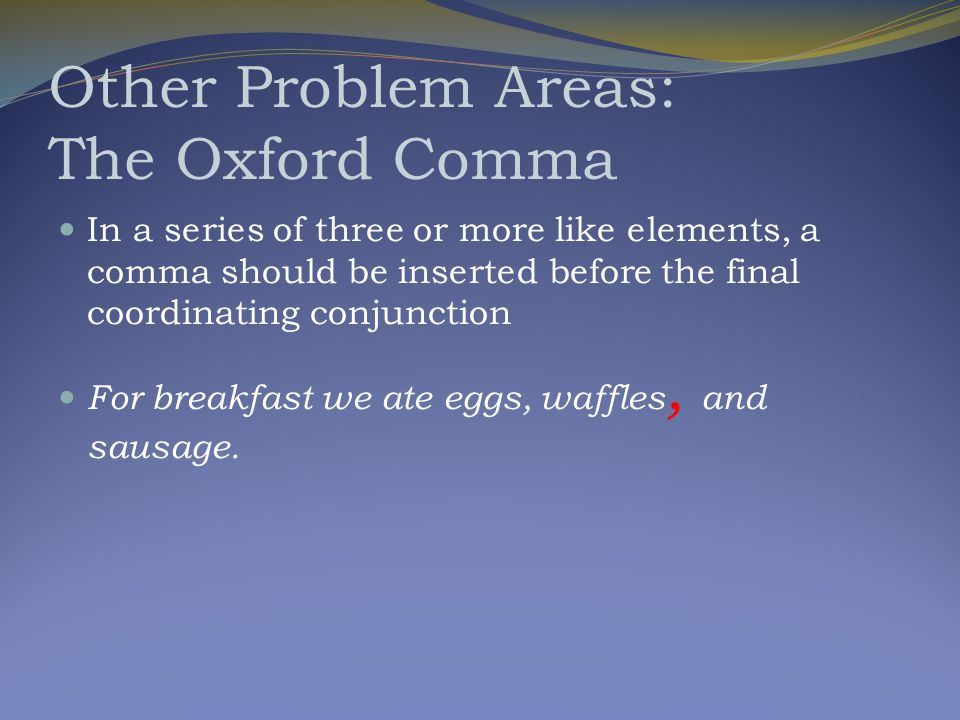 Avoiding Comma Splices Independent Clause, (coor. conj.)Independent Clause IC, (coor.conj) IC