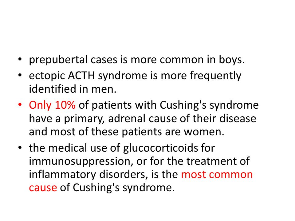 very severe Cushing difficult to control 1.hypokalemia 2.hypertension 3.acute psychosis