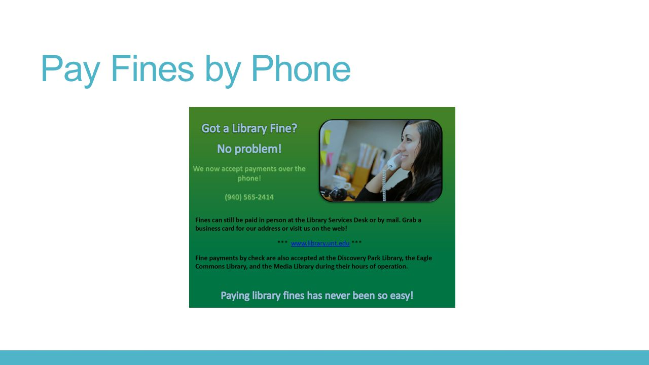 Pay Fines by Phone
