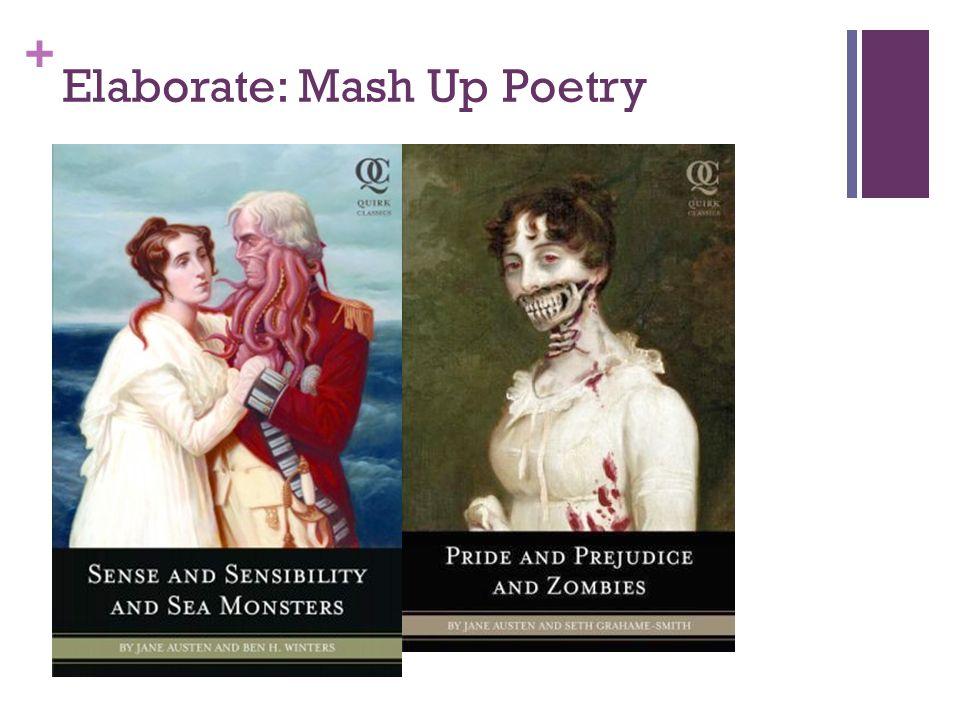 + Elaborate: Mash Up Poetry