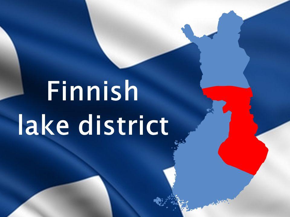 Finnish lake district