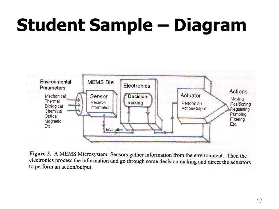 17 Student Sample – Diagram