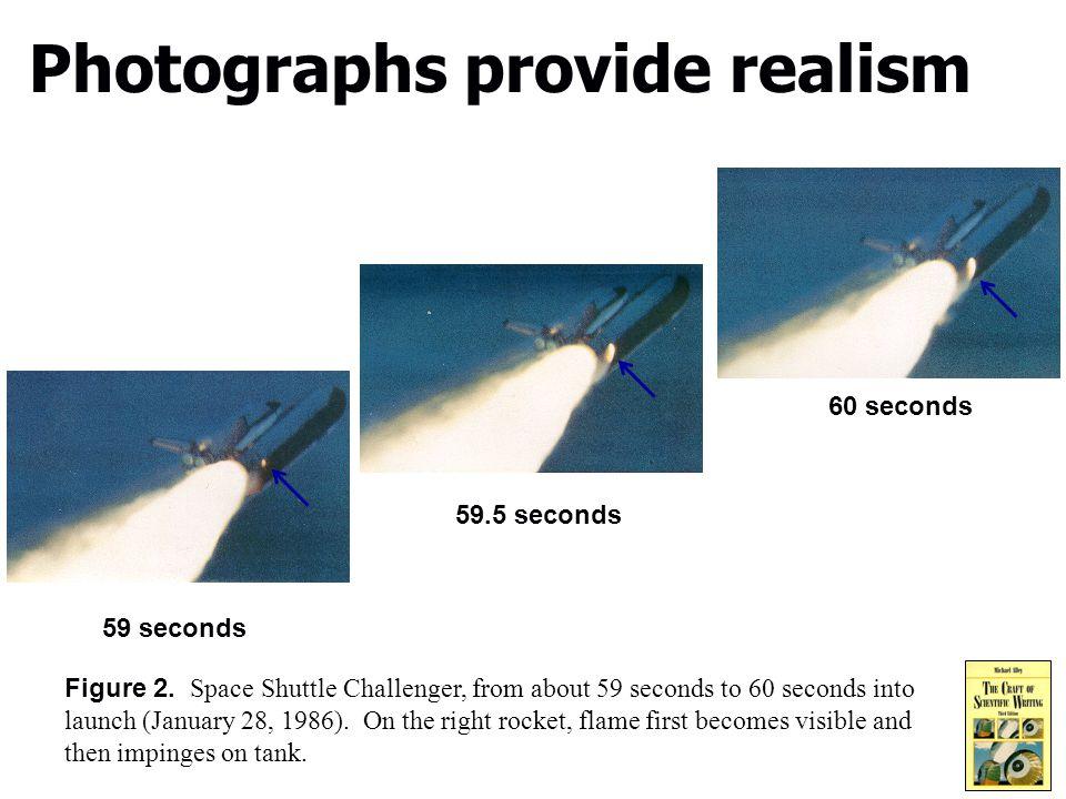 8 Photographs provide realism Figure 2.
