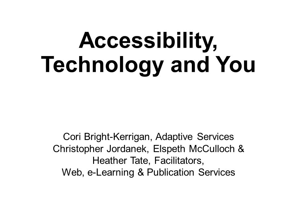 Office for Adaptive Services Web, e-Learning, & Publication Services http://blogs.fgcu.edu/elearning/ Dr.
