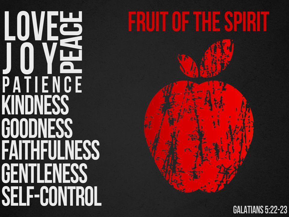 THE SPIRIT FRUIT OF JOY