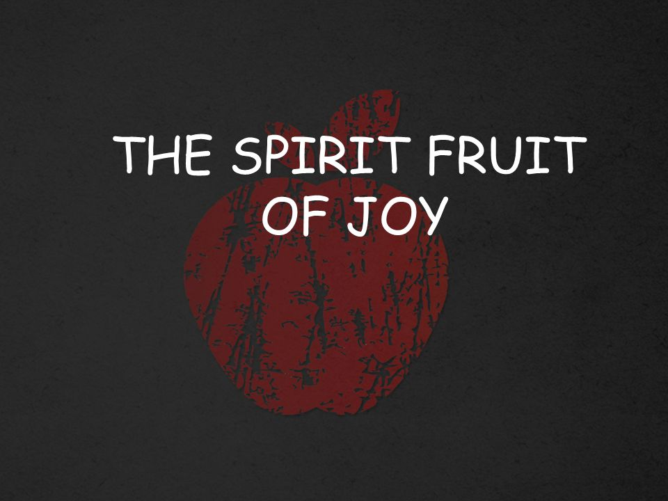 Joy is that ever deepening awareness that our lives are hidden in Christ for all eternity and that we can be led by the Spirit through anything here on earth.