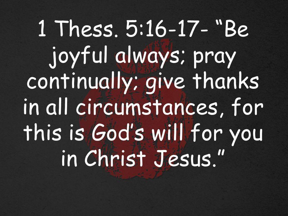 Joy is a choice.
