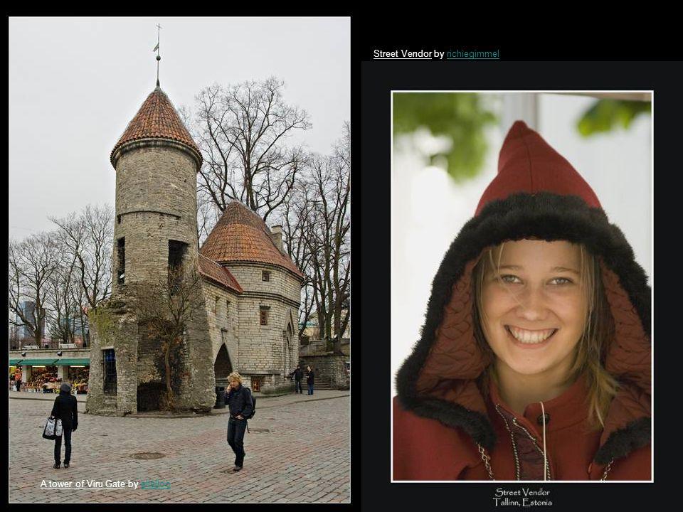 Walking in old Tallinn by MagedMaged