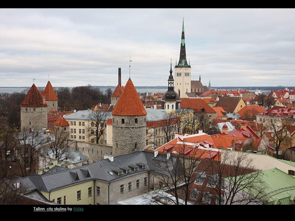 Tallinn Wall by ArviArvi Sunburst by richiegimmelrichiegimmel