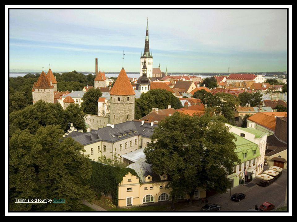 Tallinn s street by GuntinGuntin