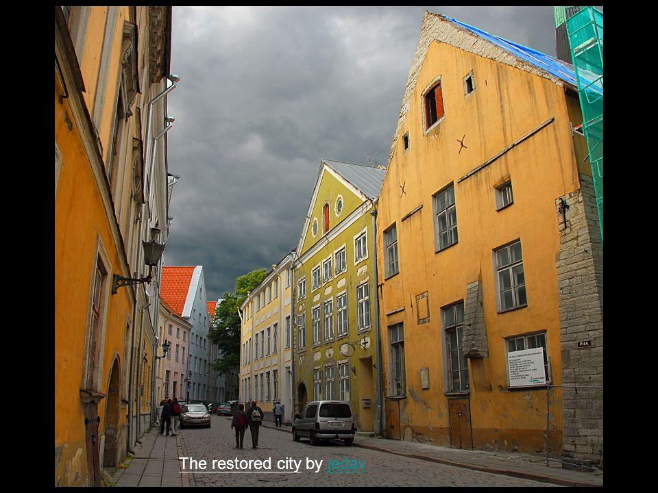 Tallinn s old town by GuntinGuntin