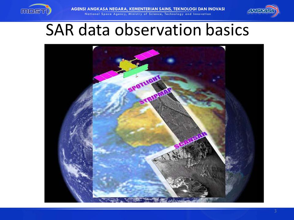 SAR data observation basics 3