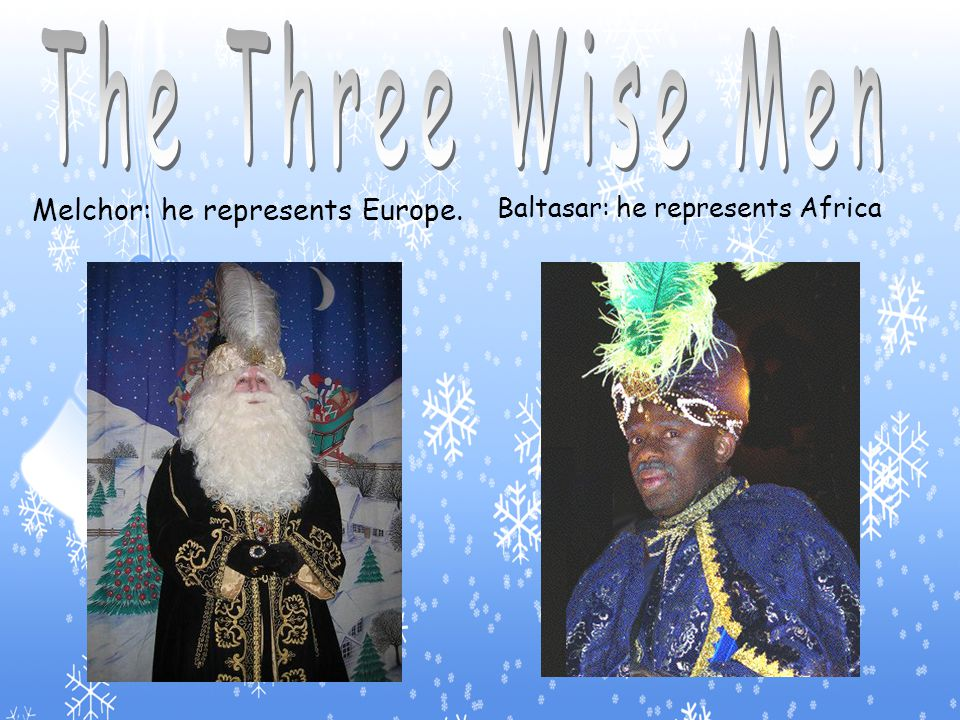 We celebrate that The Three Wise Men arrived to the stable were Jesus was born.