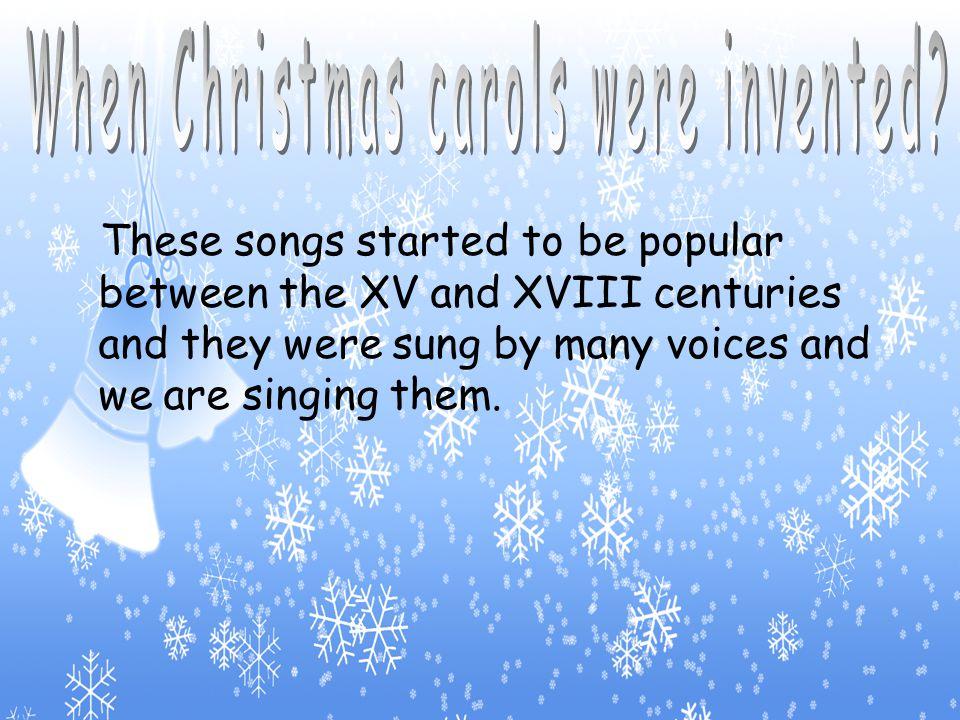 (Christmas Carols)