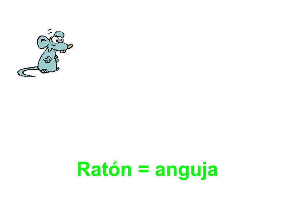 Ratón = anguja