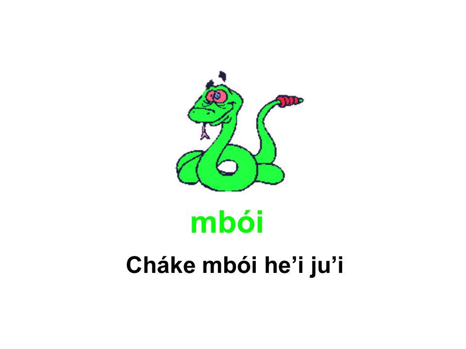 mbói Cháke mbói he'i ju'i