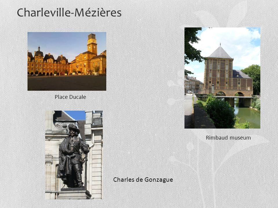 Charleville-Mézières Place Ducale Rimbaud museum Charles de Gonzague