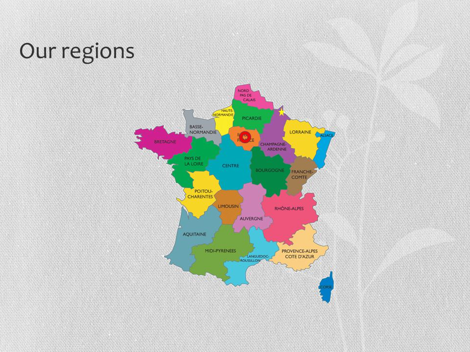 Our regions
