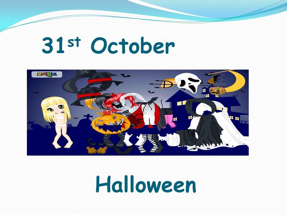 31 st October Halloween