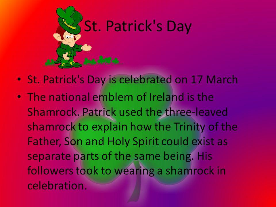 St. Patrick s Day St.