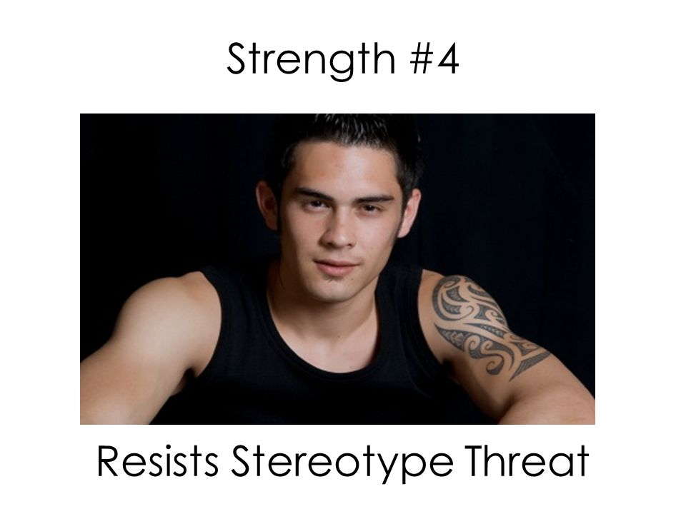 Strength #4 Resists Stereotype Threat